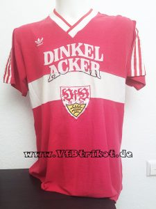 1985/86 - rot - kurzarm - Karl-Heinz Förster - Dinkelacker