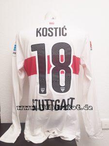 2015/16 - Filip Kostic - Bundesliga - weiß - langarm - Actv