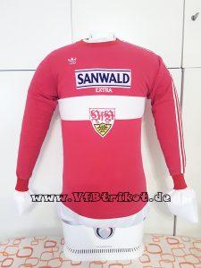 1986/87 - Bundesliga - rot - langarm