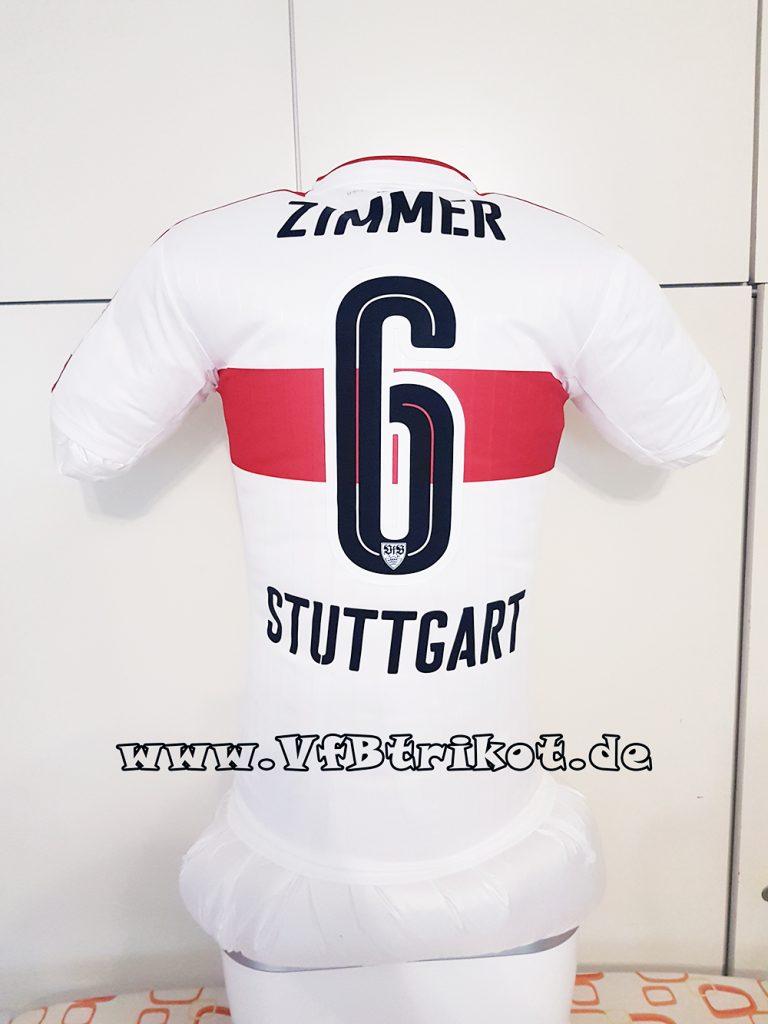 2016/17 - Jean Zimmer- weiß - kurzarm - DryCell -
