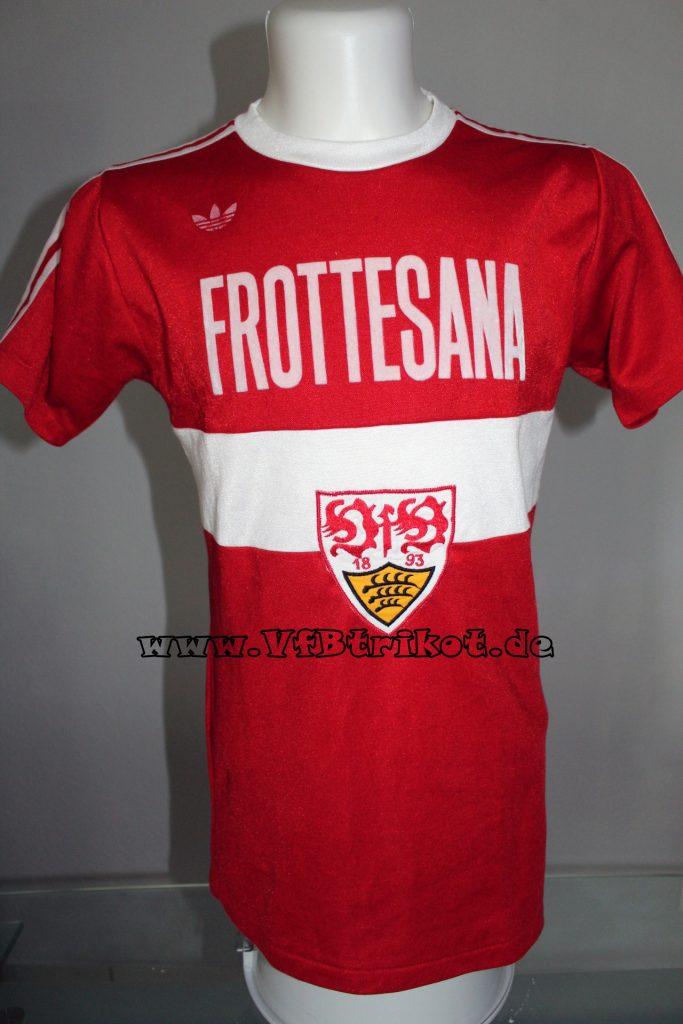 1977/78 - Bundesliga - rot - kurzarm
