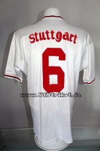 1993/94 - Bundesliga - weiß - langarm - großes Südmilch Logo - Guido Buchwald
