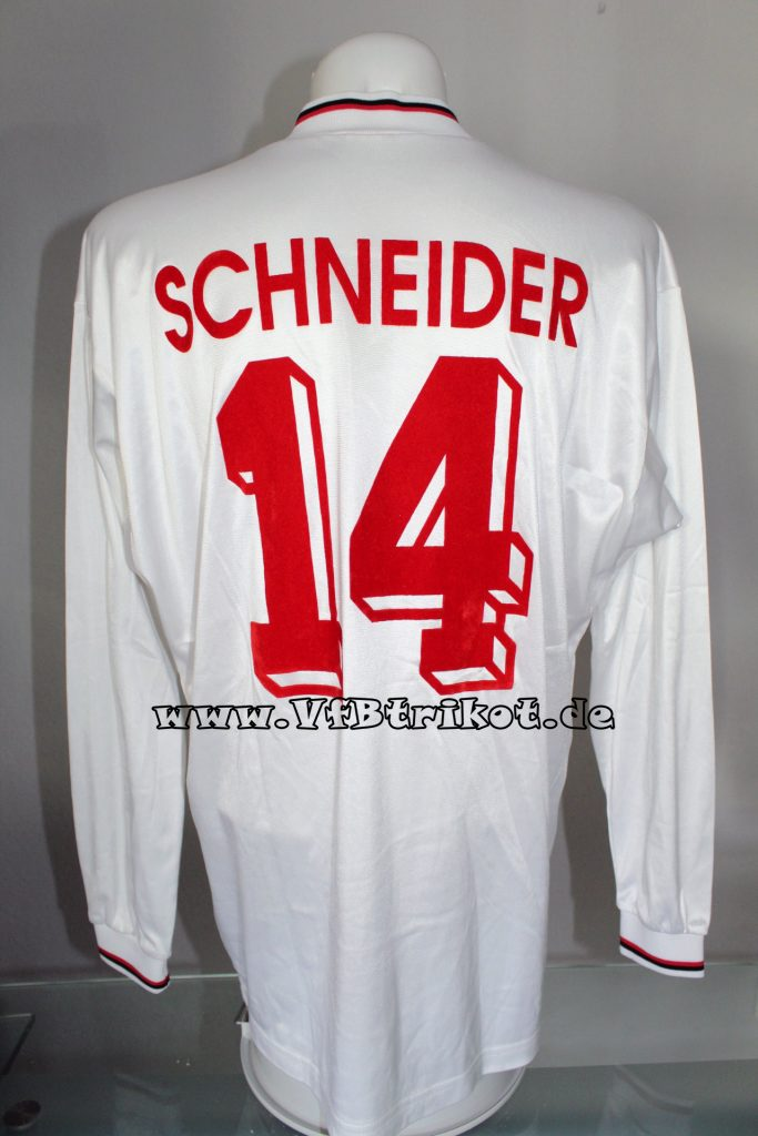 1995/96 - Bundesliga - weiß - langarm - Thomas Schneider