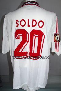 1997/98 - Bundesliga - weiß - kurzarm - Zvonimir Soldo