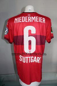 2015/16 - DFB-Pokal - rot - kurzarm - Georg Niedermeier