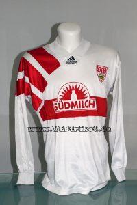 1994/95 - Jugendtrikot - weiß - langarm - Südmilch - unbekannter Spieler