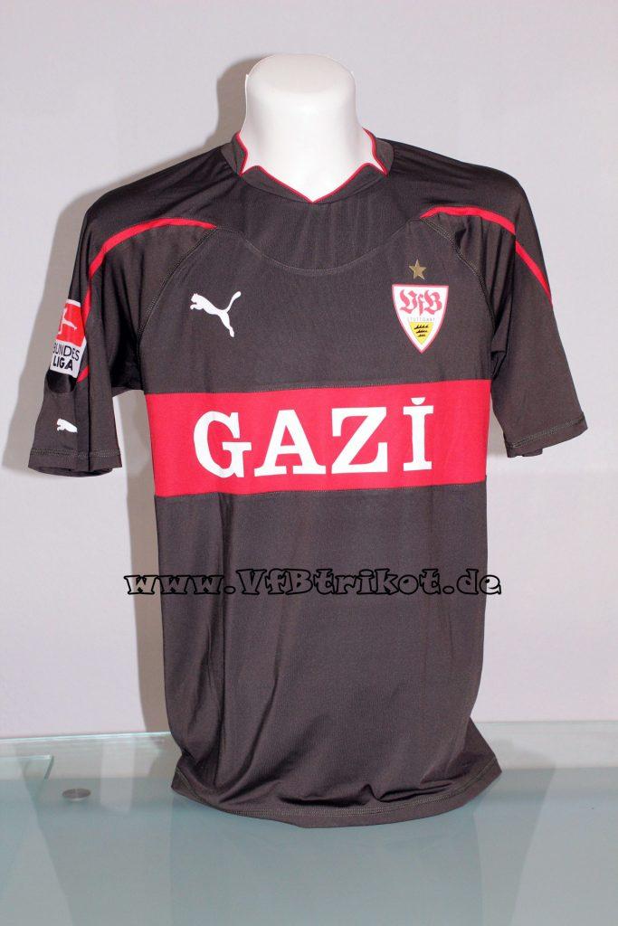 2011/12 - Bundesliga - grün - kurzarm - Gazi - Vedad Ibisevic