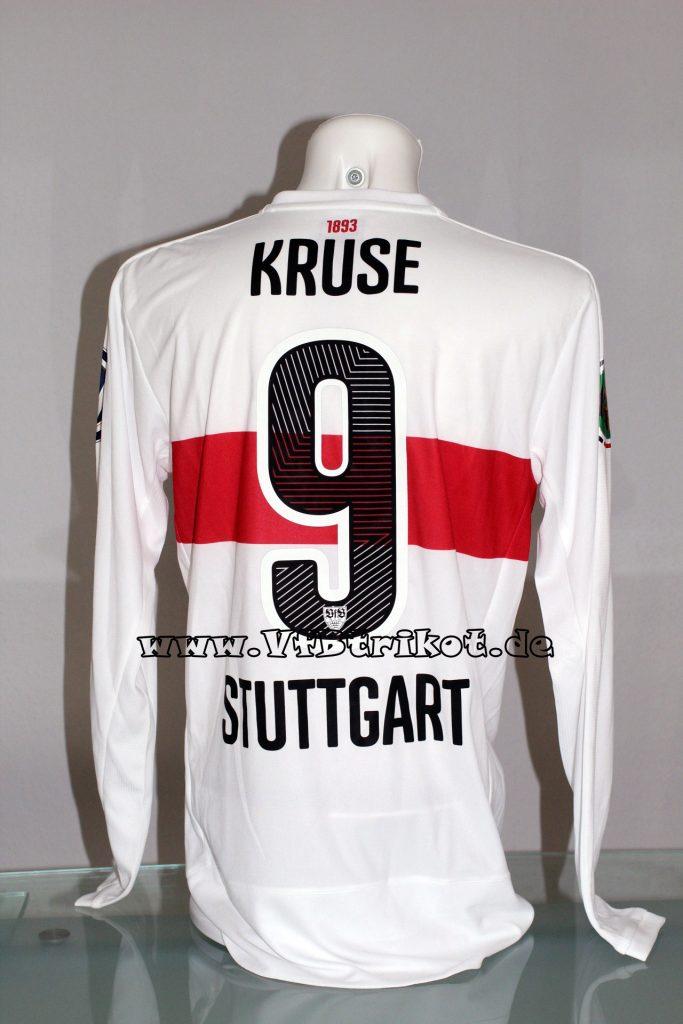 2015/16 - DFB-Pokal - weiß - langarm - Drycell - Mercedes-Benz-Bank - Robbie Kruse