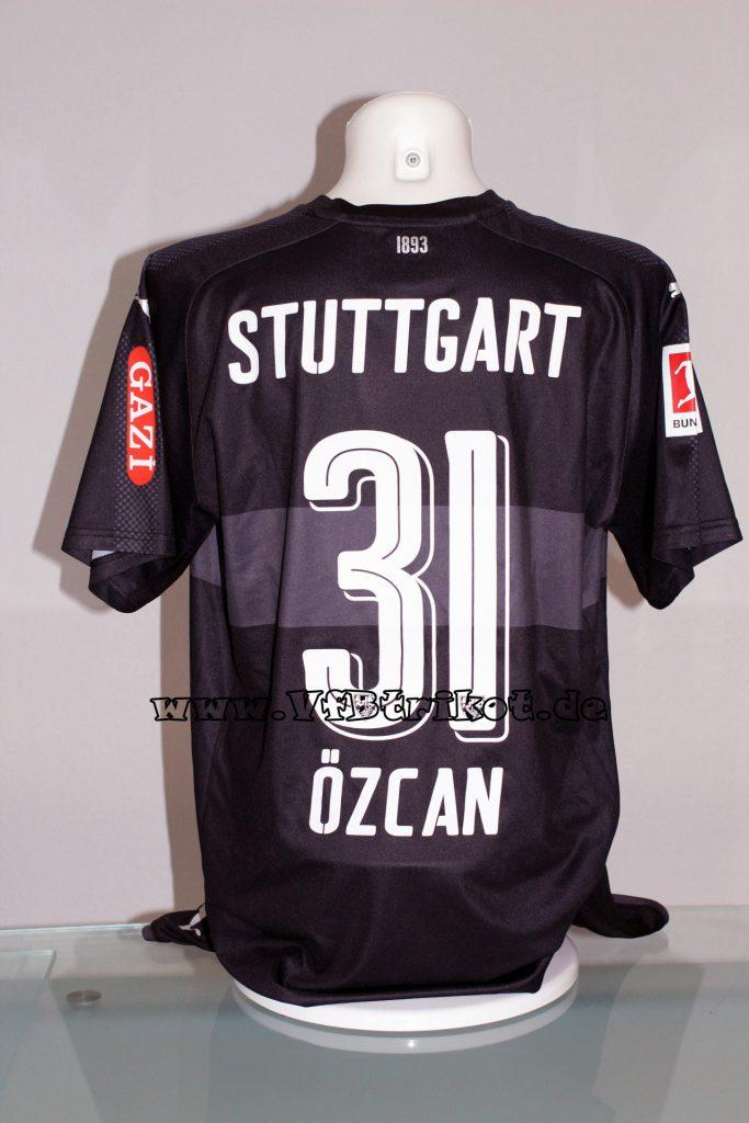 2017/18 - Bundesliga - schwarz - kurzarm - Mercedes-Benz-Bank - inkl. Hose - Berkay Özcan - FSV Mainz 05 vs. VfB Stuttgart