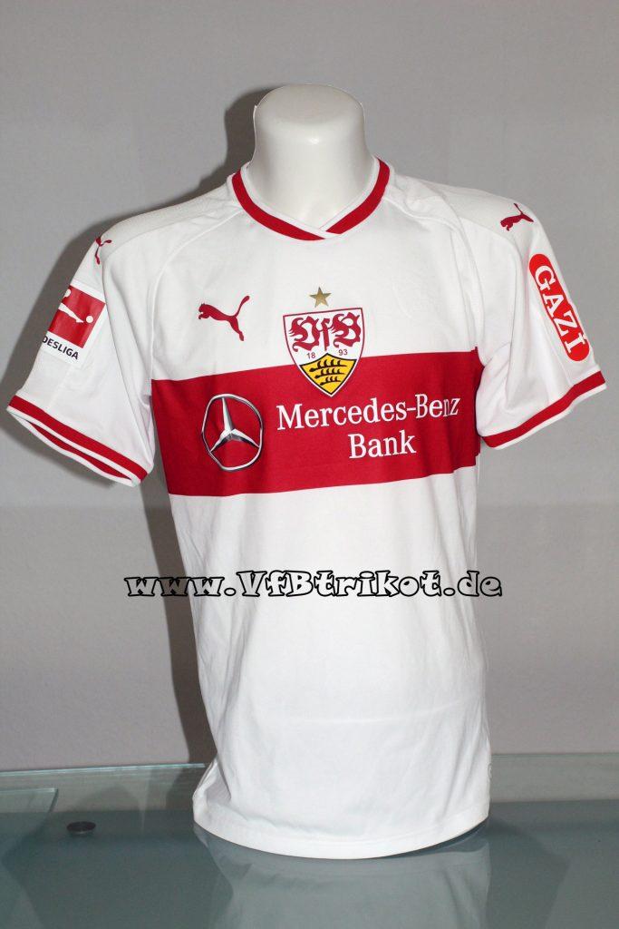 2018/19 - Bundesliga - weiß - kurzarm - Mercedes-Benz-Bank - Emiliano Insua