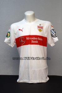 2015/16 – DFB-Pokal – weiß – kurzarm – Drycell – Mercedes-Benz-Bank – Robbie Kruse