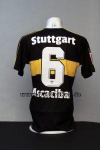 2018/19 – VfB Stuttgart Trikot Matchworn - Bundesliga – schwarz – kurzarm –