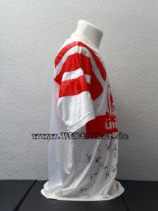 1992/93 - Bundesliga - weiß - kurzarm - getragen von Guido Buchwald