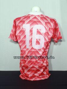 1988/89 - UEFA-Cup - rot - kurzarm - Banyasz Tatabanya - VfB Stuttgart - mit diesem 88er Holland Design Trikot wurde nur einmalig in Tatabanya gespielt.